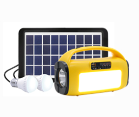 IS-1277S-L Solar Home Lighting Kit with lamp & Tocch & Radio